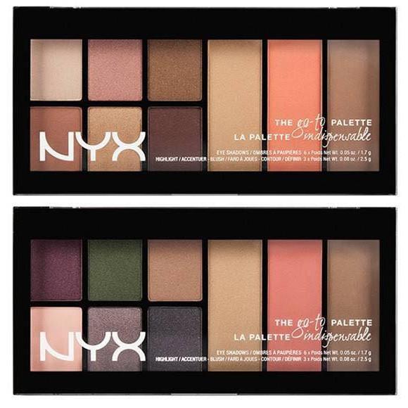 Bảng makeup màu mắt của NXY