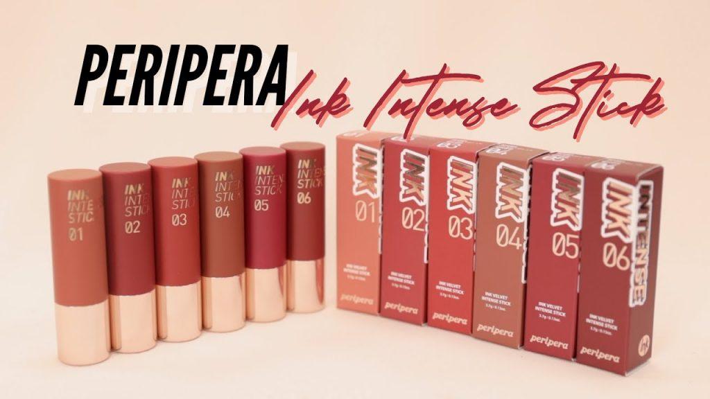 Bộ 6 màu Peripera Ink Intense Stick