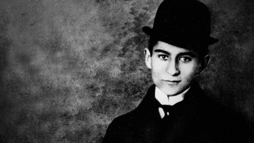 Chân dung nhà văn Franz Kafka.