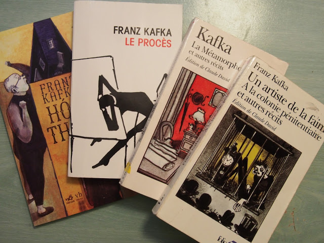 Kafka là nhà văn điển hình trong những cây viết có đời sống nội tâm phức tạp.