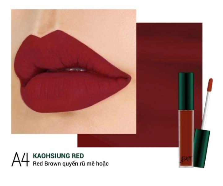 Màu A4 Kaohsiung Red