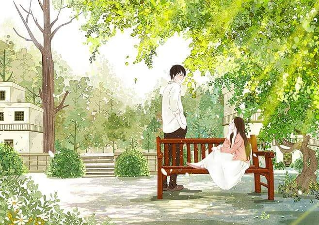 tình yêu là sự ngọt ngào bạn dành cho người ấy