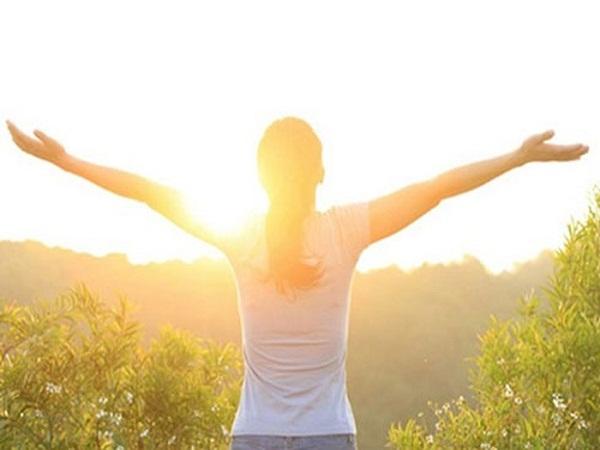Ánh nắng ngoài trời cũng rất tốt cho sức khỏe