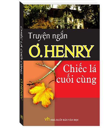 Bìa sách Chiếc lá cuối cùng của nhà văn O.Henry.