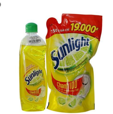 Nước rửa chén sunlight giá bao nhiêu