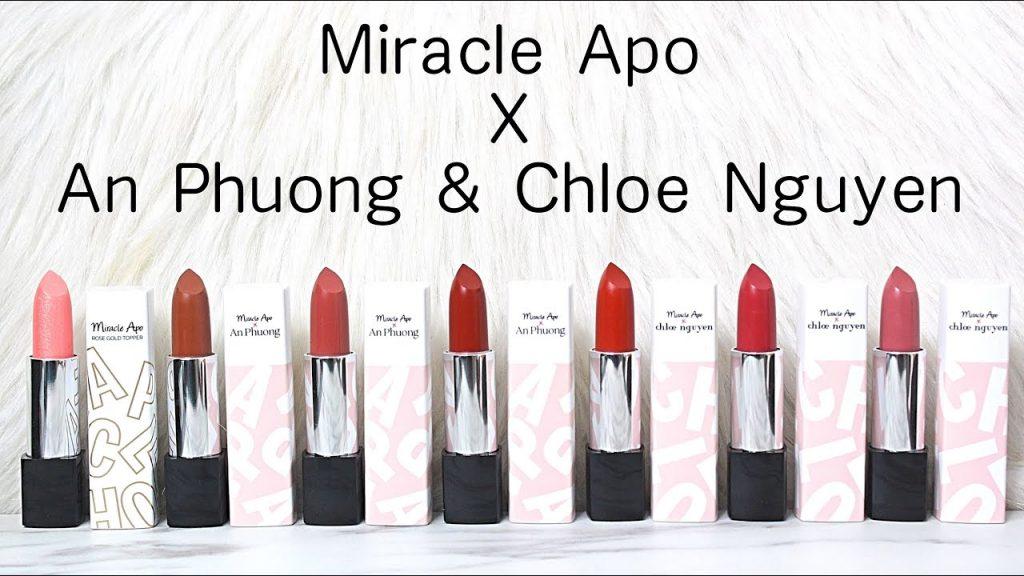 Son Miracle Apo x An Phương và Miracle Apo x Chloe Nguyễn