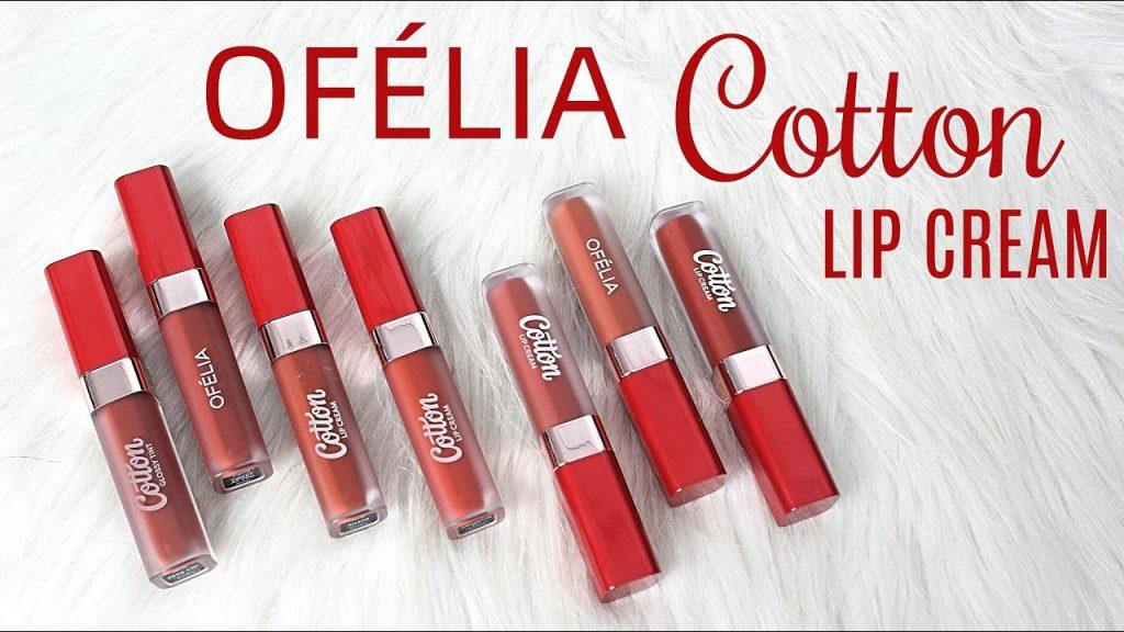 Thiết Kế Bộ Sưu Tập OFÉLIA Cotton Lip Cream