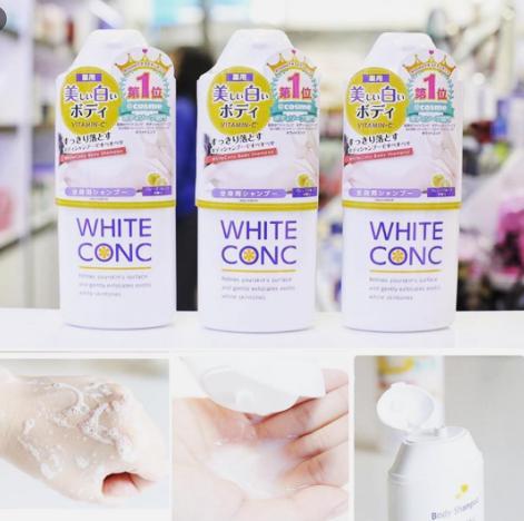 review sữa tắm trắng da tốt nhất hiện nay