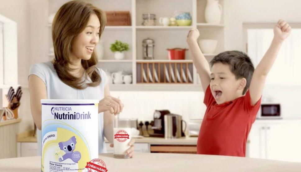 Sữa Nutrini Drink có giúp tăng cân thật sự.