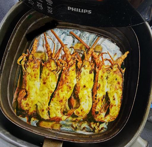 Tôm hùm nướng phomai