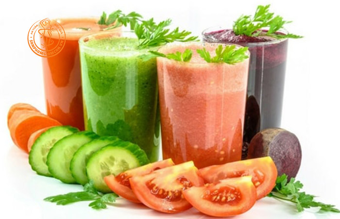 7 công thức nước ép củ quả giảm cân, giữ dáng