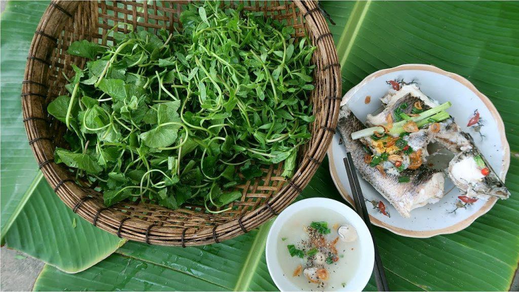 Con cá, rổ rau, nắm gạo làm nên mỹ vị trần gian.