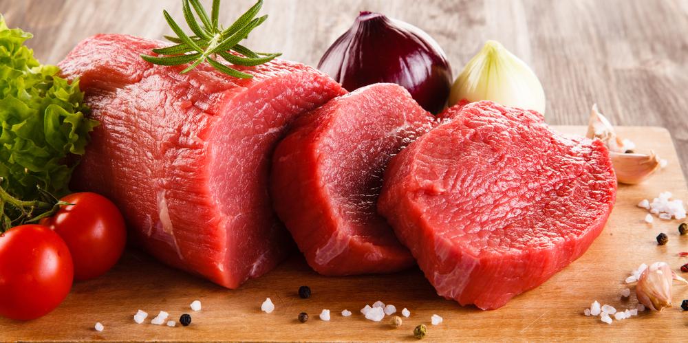 Thịt bò có hàm lượng chất béo khá thấp