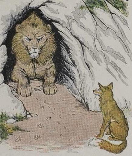 sư tử và con cáo