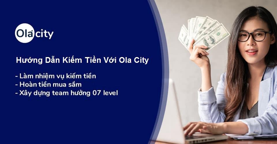 Kiếm tiền từ ola city