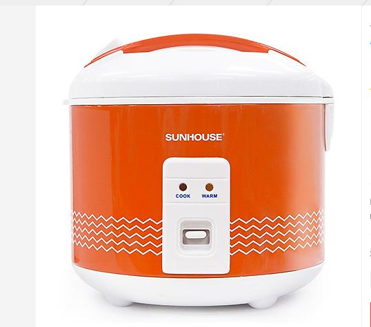 Nồi cơm điện nắp gài Sunhouse SHD8600 được nhều gia đình chọn dùng