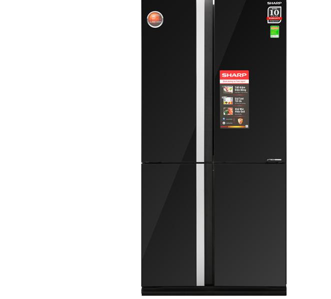 Tủ lạnh Inverter Sharp SJ FX688VG BK 605 lít có tốt không