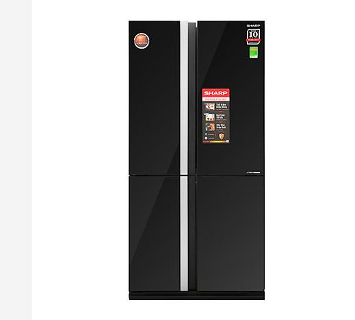 Tủ lạnh Inverter Sharp SJ FX688VG BK 605 lít sang chảnh