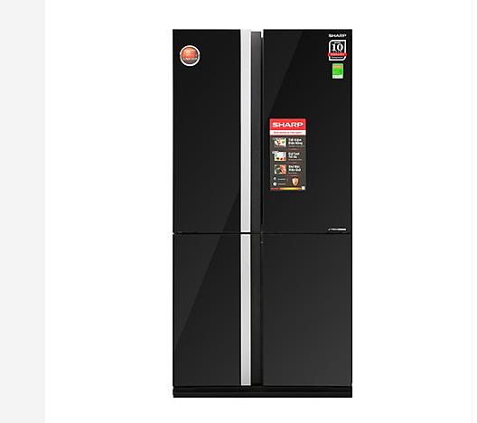 Tủ lạnh Inverter Sharp SJ FX688VG BK 605 lít được khách hàng ưa thích hiện nay