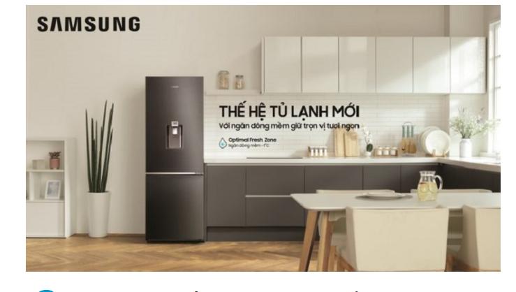 Tủ lạnh Samsung có ngăn đông mềm thế hệ mới