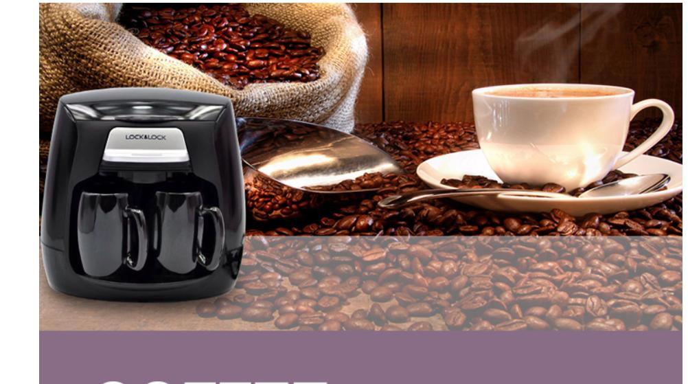 Máy pha cà phê Lock&Lock ELCM 202