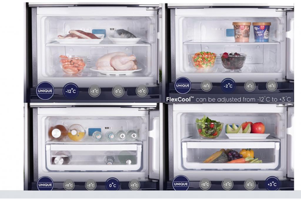 Tủ lạnh Electrolux Inverter 337 lít giúp thực phẩm tươi ngon lâu hơn