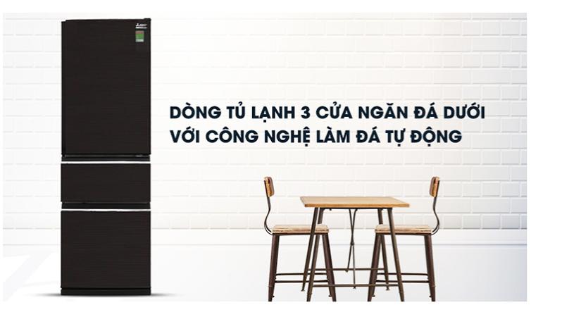 Tủ lạnh Mitsubishi dung tích 272 lít