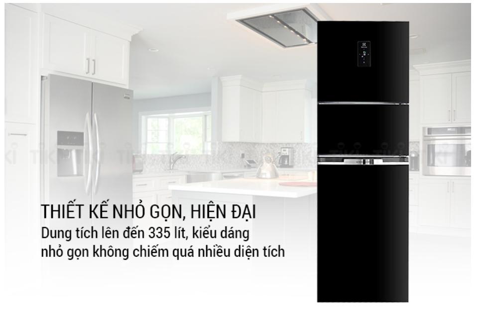Tủ lạnh Electrolux Inverter 337 lít EME3700H H sang trọng nổi bật