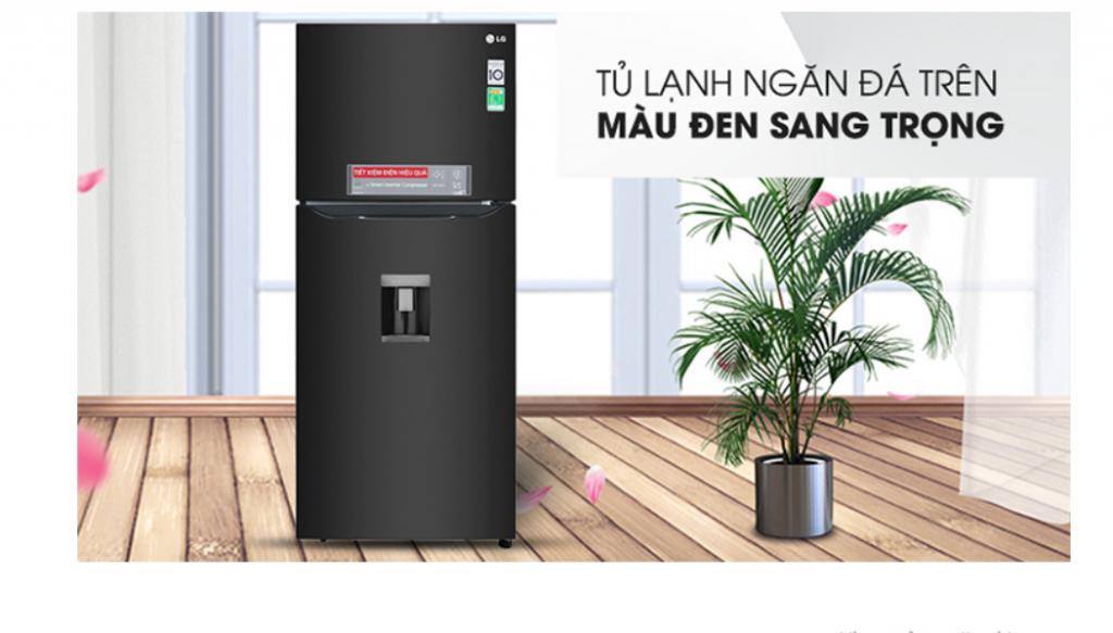 Tủ lạnh Inverter LG GN D422BL (393L) rất được yêu thích hiện nay